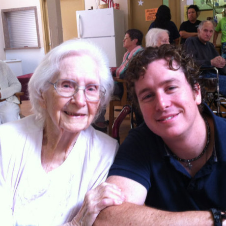 Me and my precious Grammy