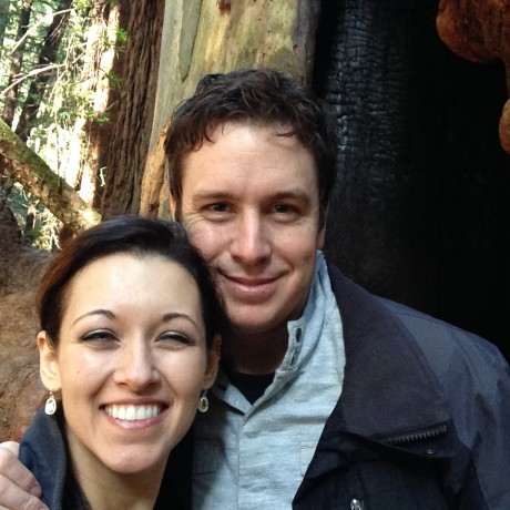 At Muir Woods together