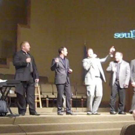 Singing with Soul'd Out Quartet