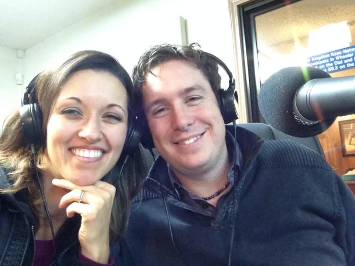 Radio interview blake and jenna