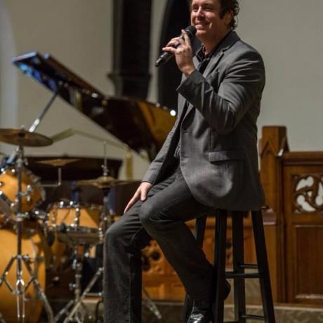 Blake singing