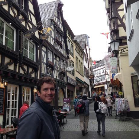 Blake in Germany