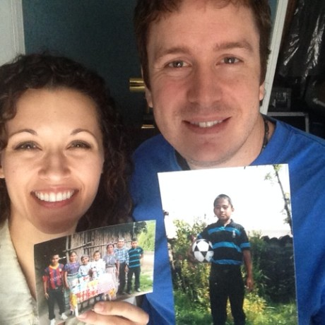 We got pictures from our Compassion kid!