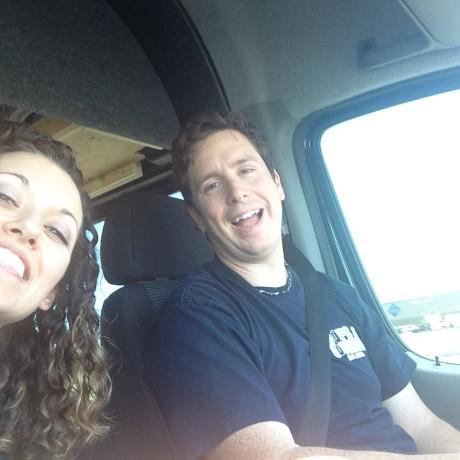 Blake and Jenna Driving