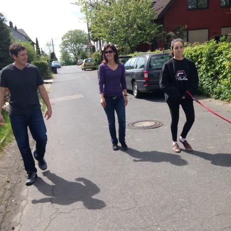 Taking a walk in Bonn Germany